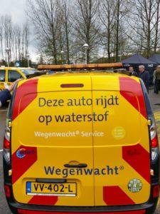 ANWB Wegenwacht rijdt op waterstof